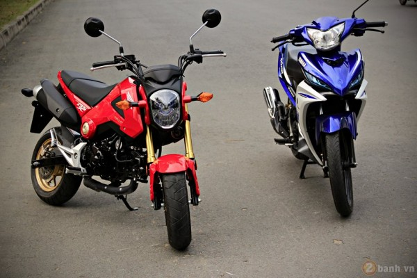So sánh Honda MSX 125 vs Exciter 135
