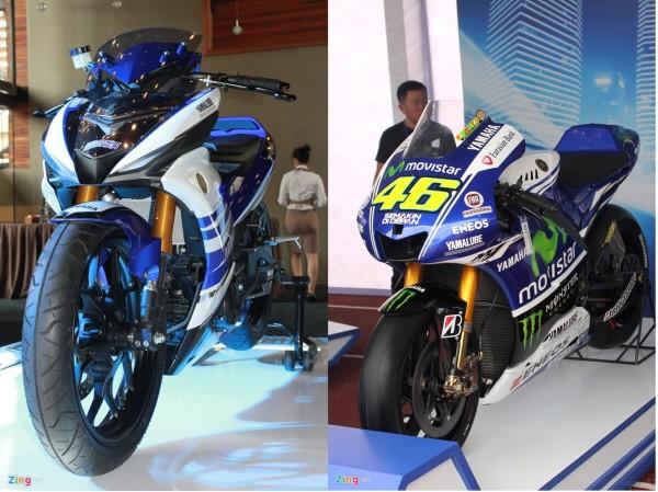 So sánh Exciter 150 M1 Edition vs xe đua M1
