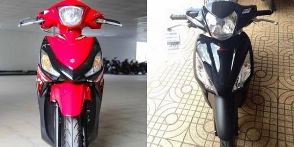 So sánh Suzuki Address 2016 vs Vision 2016