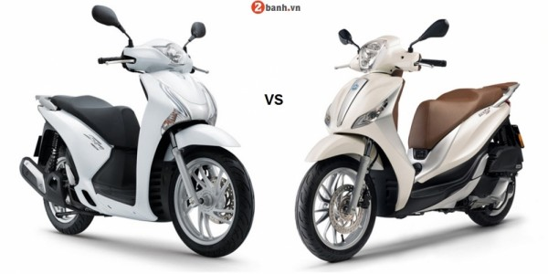 So sánh Piaggio Medley ABS 2016 vs SH 125i