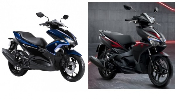 So sánh Yamaha NVX 125 2017 vs Honda Air Blade 125