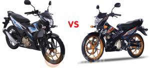 So sánh Raider Fi 2018 với Suzuki Raider 150 phiên bản 2016