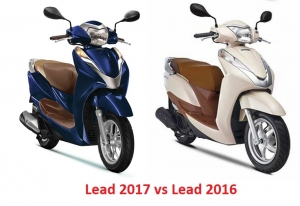 So sánh Honda Lead 2018 vs Lead 125 2016