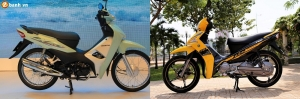 So sánh Honda Wave Alpha 2017 vs Yamaha Sirius 2017