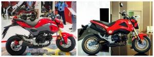 So sánh Honda MSX 2020 và MSX 2016 cũ