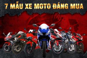 Top 7 mẫu xe moto thể thao giá rẻ đáng mua nhất hiện nay 2018