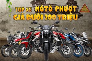 Những mẫu xe mô tô phượt giá dưới 200 triệu nào đáng mua nhất hiện nay?