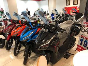 Giá xe Click Thái 2018 mới nhất hôm nay tháng 11 tại đại lý Việt Nam