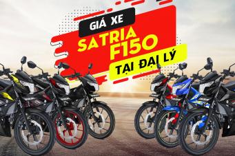 Giá xe Satria F150 mới nhất hôm nay tháng 8/2019 tại đại lý Việt Nam