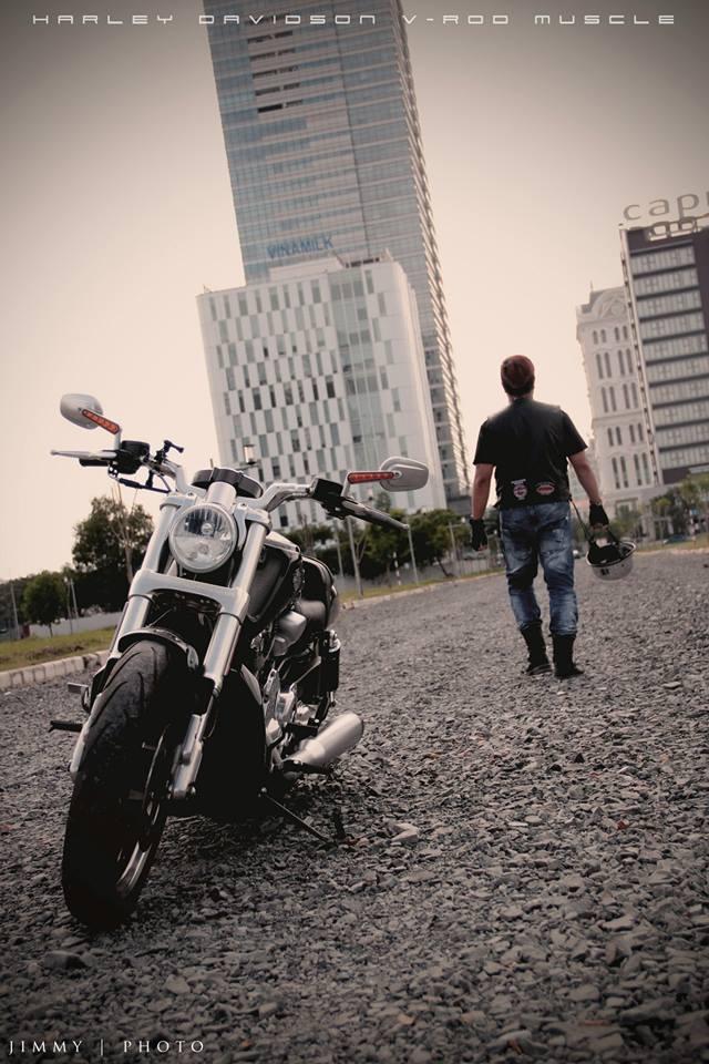 V-Rod Muscle 2014 - Mẫu xe cơ bắp Mỹ của Harley - 84737