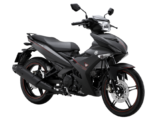 Exciter 150 matte black - 1
