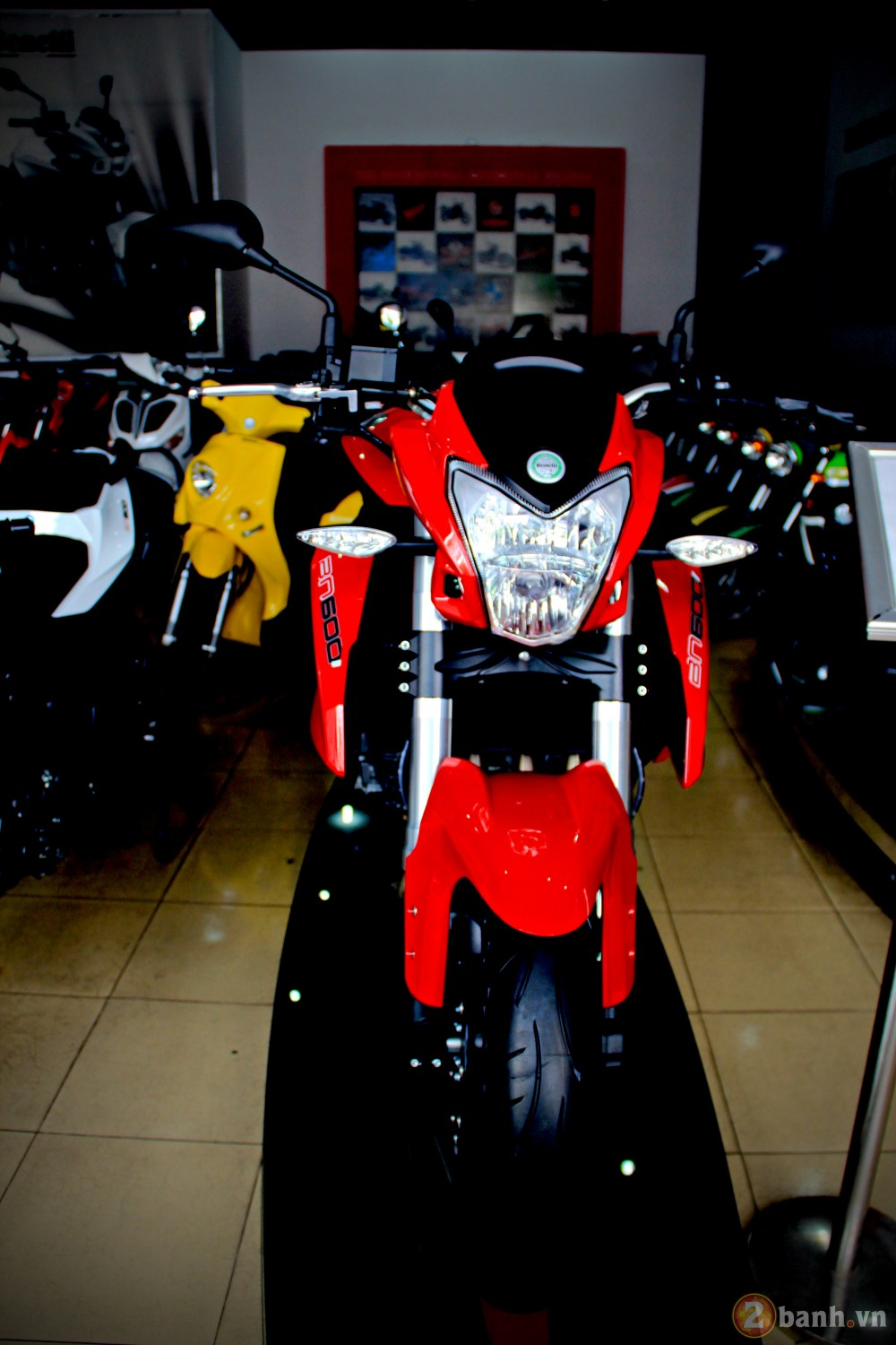 Benelli bn600i abs - 1