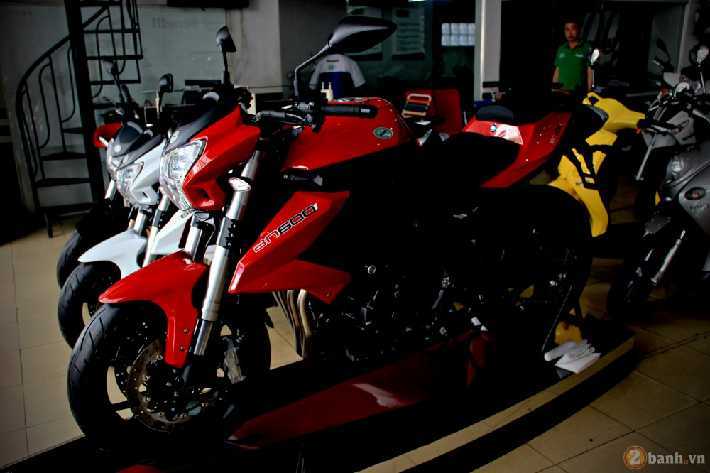 Benelli bn600i abs - 5