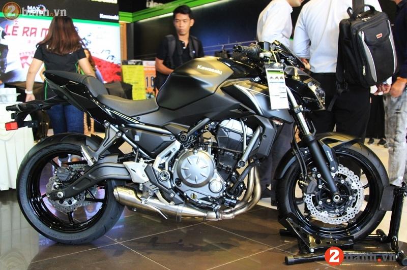 Kawasaki z650 2017 - 1