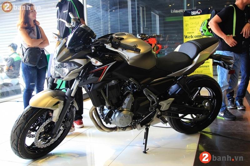 Kawasaki z650 2017 - 2