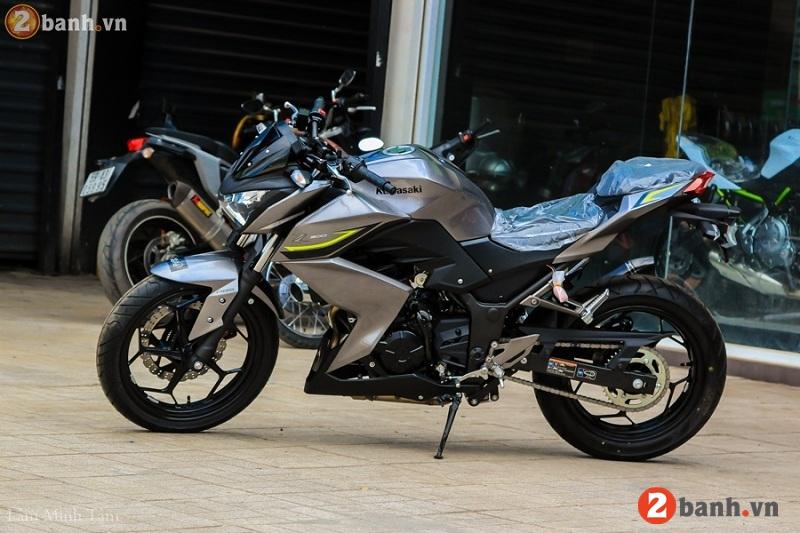 Kawasaki z300 abs 2017 - 2