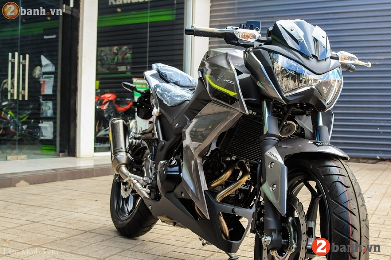 Kawasaki z300 abs 2017 - 8