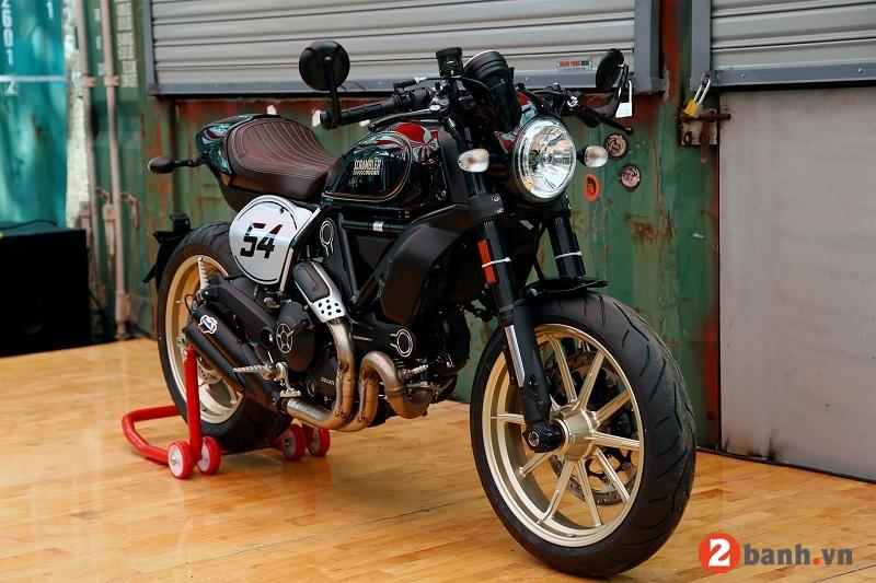 Ducati scrambler cafe racer - 1