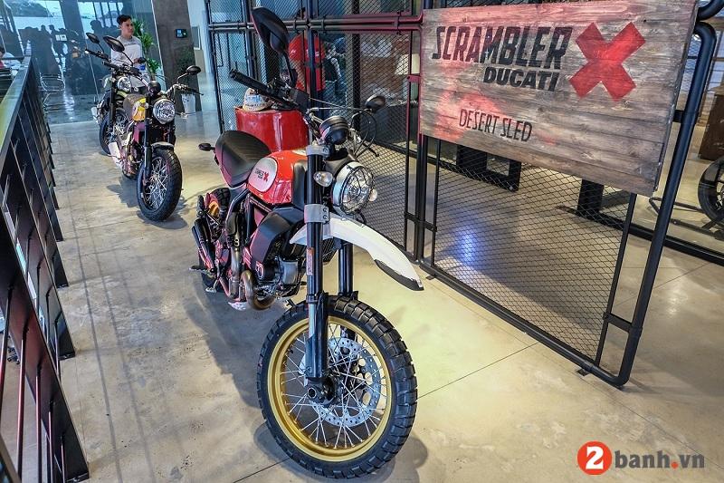 Ducati scrambler desert sled - 1