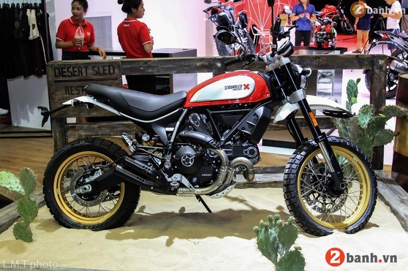 Ducati scrambler desert sled - 2
