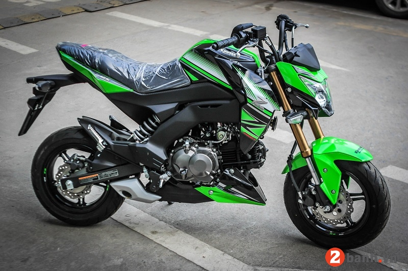 Kawasaki z125 pro 2017 - 1