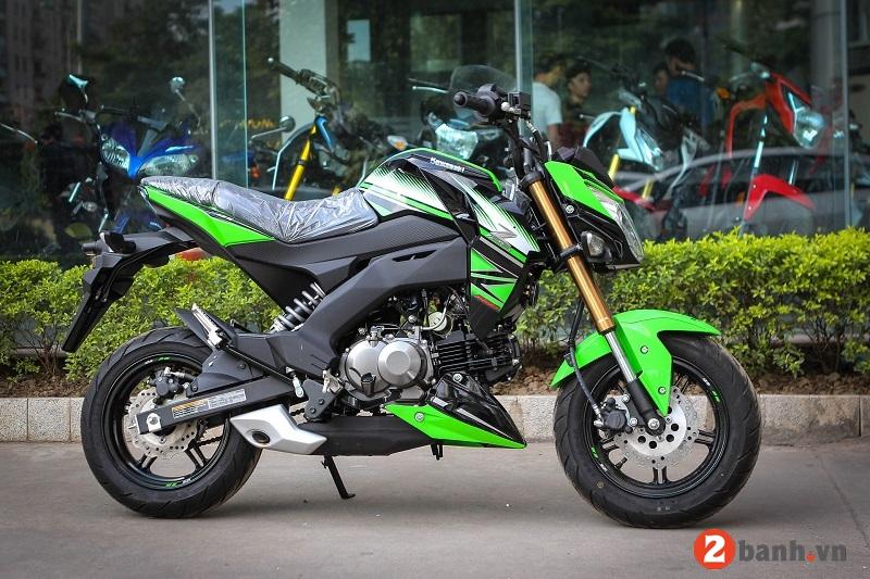 Kawasaki z125 pro 2017 - 2