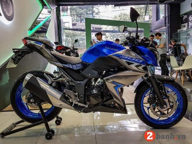 Kawasaki z300 abs 2018 - 2