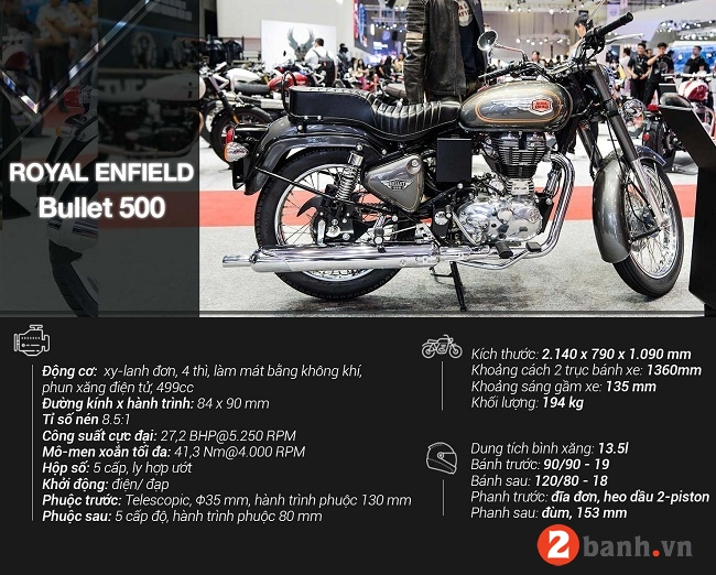 Royal enfield bullet 500 - 2
