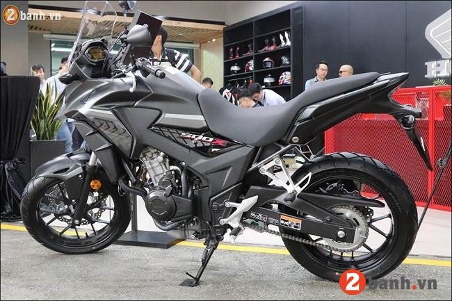 Honda cb500x - 4