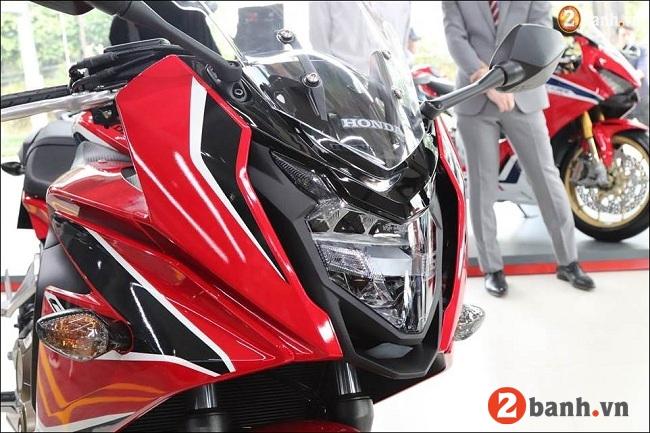 Honda cbr650f - 4