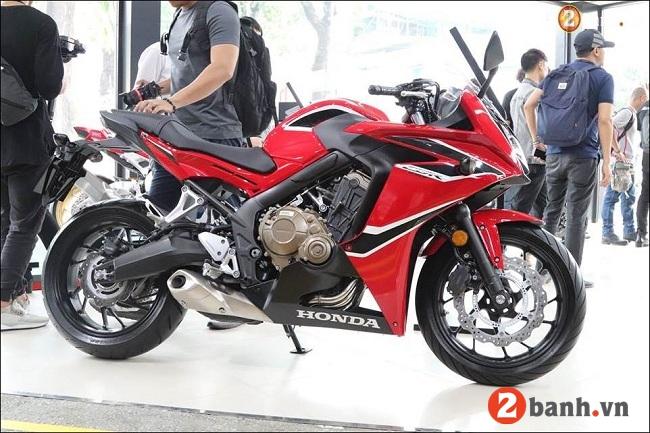 Honda cbr650f - 3