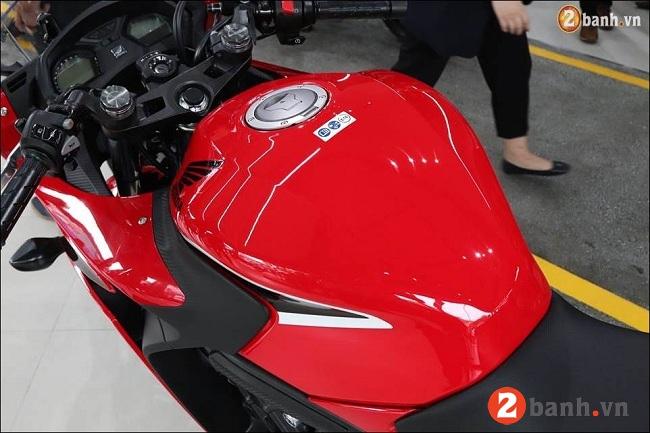 Honda cbr650f - 7