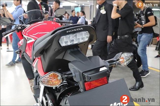 Honda cbr650f - 8