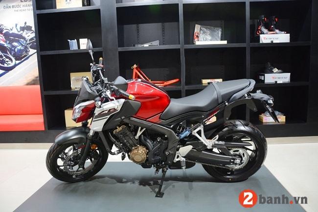 Honda cb650f - 1