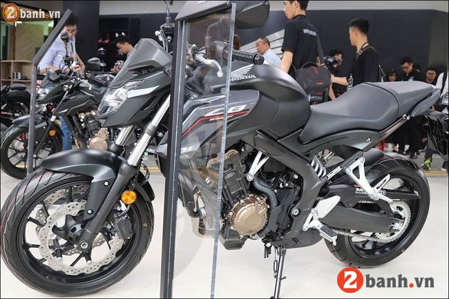 Honda cb650f - 4