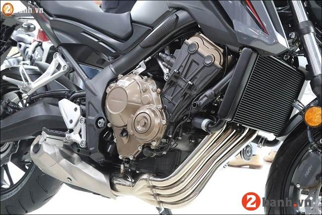 Honda cb650f - 3