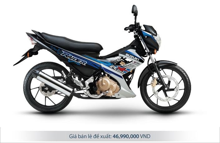 Giá xe Raider 150 2015